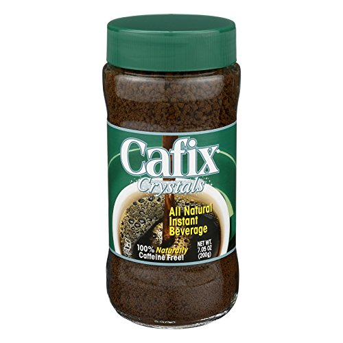 Cafix All Natural Instant Beverage Crystals - Caffeine Free - Case of 12 - 7 oz. by Cafix