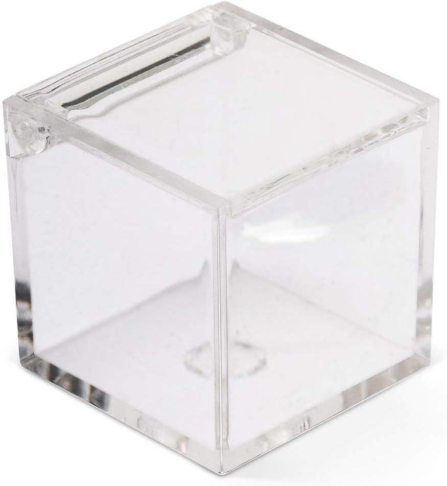 IRPot – 2 x Cajas para peladillas en plexiglás transparente en ...