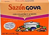 Goya Foods Sazon Coriander & Annatto, 1.41 Ounce (Pack of 36)