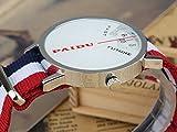 PAIDU Men's Women Design Turntable Round Dial Nylon
