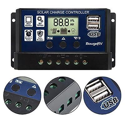 BougeRV 100W 18V 12V Solar Panel Charger