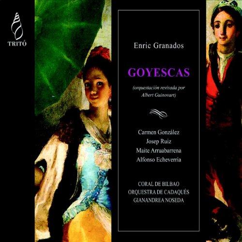 Goyescas, Cuadro I, Escena 1: El Pelele