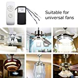 liumiKK 220V/110V Ceiling Fan Remote Control Lamp