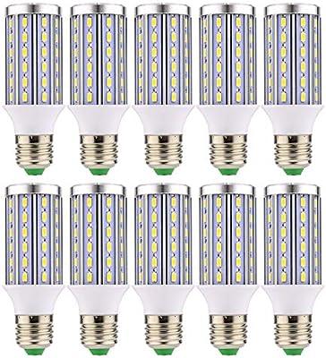 Skbiubiu E27 Led Corn Bulbs 10w Equivalent 90w Non Dimmable