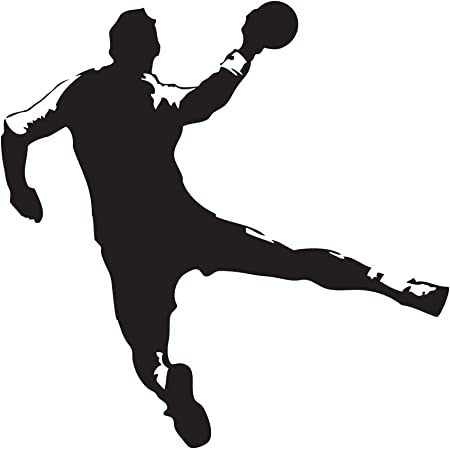 ODERTEX Caja de Pared con diseño de Pelota de Balonmano universumsum con diseño de Deportes de Salto de Lanzamiento wal112, Motiv: Handball Sprungwurf, Grösse 3 Pink: Amazon.es: Hogar