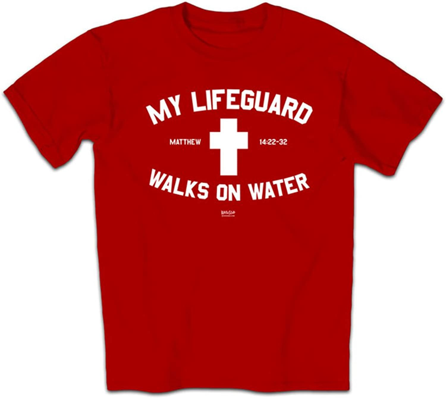 Amazon.com: Christian T-Shirt Lifeguard Design: Clothing