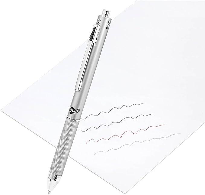 Hinmay stylos 3/Couleurs DEncre Effa/çable Bleu fonc/é # 2 # 3 0,5/mm pour Bureau /étudiant /à l/école Creative Writing Bo/îte Cadeau Stylo en Noir # 1 Bleu
