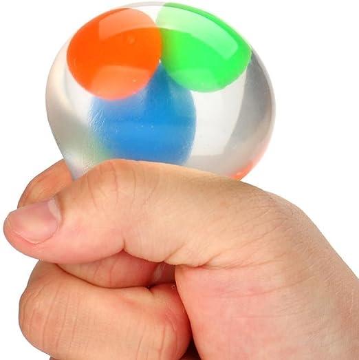 Huevo, juguete, yoyoug claro huevo juguete Squeezable estrés ...