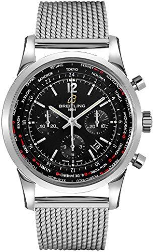 Breitling Transocean Unitime Pilot GMT World Time Zone Men's Watch AB0510U6/BC26-152A