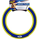 Nerf Dog Toss & Retrieve Flying Disc Dog Toys (Rings, Flyers, Discs) (Megaton, Ring)