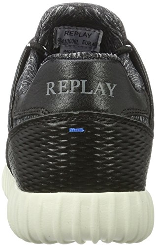 REPLAY Format, Sneaker Uomo Nero (Nero)