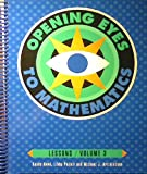 Opening Eyes to Mathematics 9781886131316