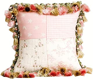 product image for Glenna Jean Isabella Pillow, Patch/Tassels