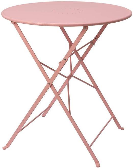IKEA ASIA SALTHOLMEN - Mesa plegable para exteriores, color rosa: Amazon.es: Jardín