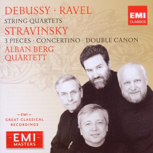 Debussy: String Quartet, Op. 10 / Ravel: String Quartet / Stravinsky: 3 Pieces for String Quartet; Concertino; Double Canon by EMI Classics