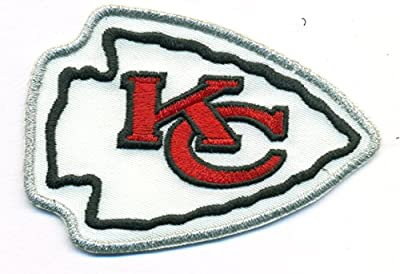 Kansas City Chiefs Logo Football NFL Embroidered Iron On Patches Hat Jersey