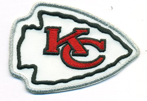 cheap for discount d2c5e d13df Kansas City Chiefs Logo Football NFL Embroidered Iron On Patches Hat Jersey