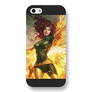 UniqueBox Customized Marvel Series Case for iPhone 6 4.7, Marvel Comic Hero Marvel Girl Jean Grey iPhone 6 4.7 Case, Only Fit for Apple iPhone 6 4.7 (Black Frosted Case)