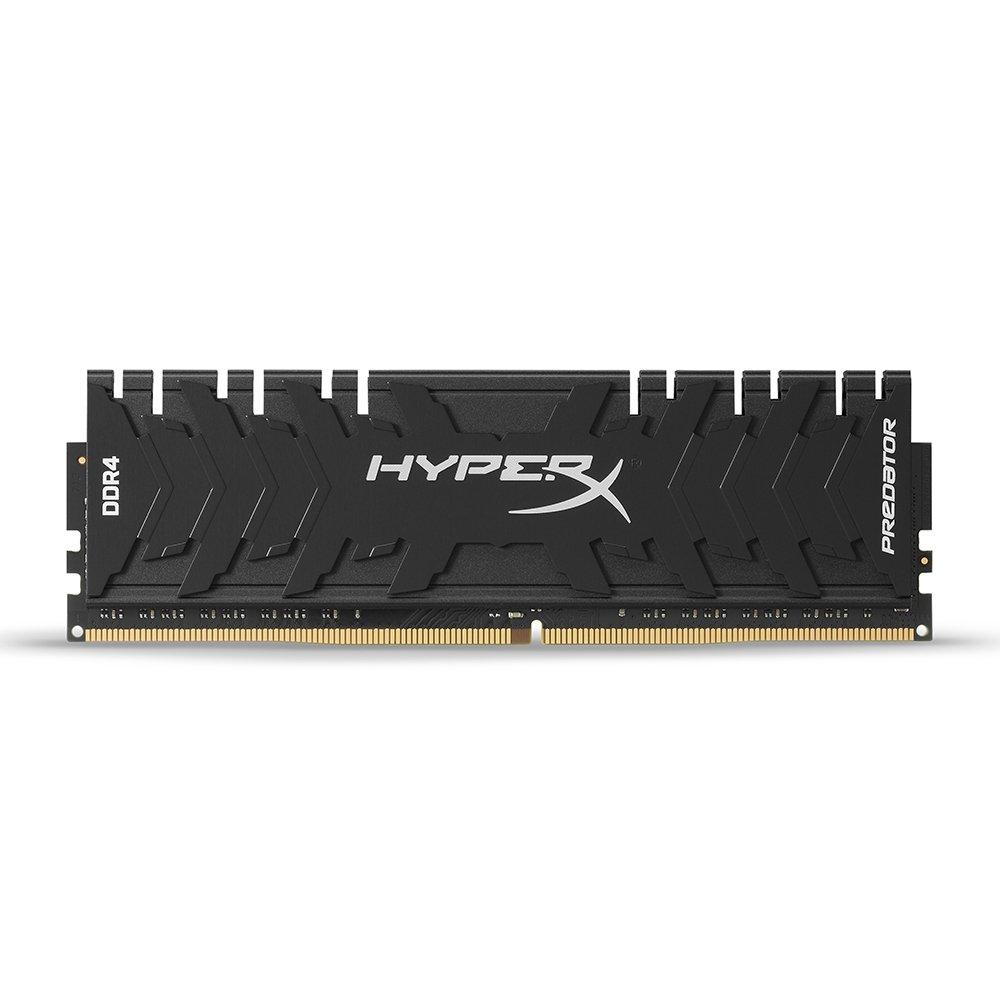 Memoria RAM de 64 GB HyperX Predator DDR4, Kit 4 x 16 GB, 2666 MHz, CL13, DIMM XMP, HX426C13PB3K4//64