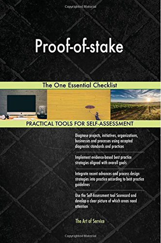 Download Proof-of-stake: The One Essential Checklist ebook