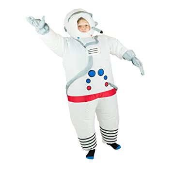 Bodysocks® Disfraz Hinchable de Astronauta Niño