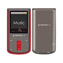 RipTunes 8GB MP3/MP4 Player 1.8-inch LCD With Micro sd Card Slot (Red)