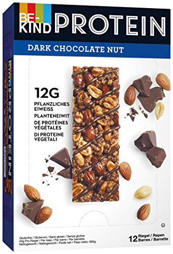 BE KIND Protein Dark Chocolate Nut 50g, 12er Pack (12 Riegel à 50g)