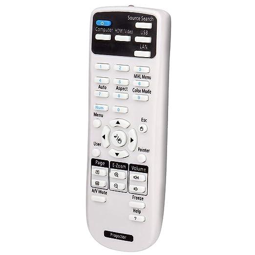 Aimple Mando a Distancia para proyector Epson EB-X11 EB-S41 EB-X41 ...