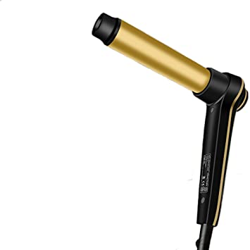 Conwea Calentamiento rápido del pelo rizado Stick Digital Display pelo rizador de hierro: Amazon.es: Belleza