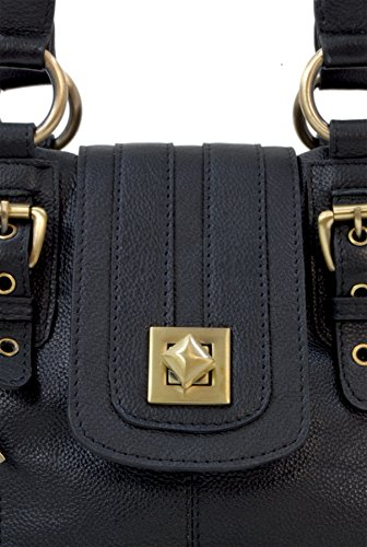 Bag Black Twist Kate Collection Catwalk Shoulder Leather Lock wXxRzpqC