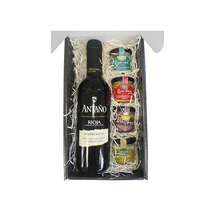 51zBFhsZ%2BNL Productos gourmet Extremadura Se presenta en caja de cartón negra, con una frase a ambos lados del estuche (ojo, frase no personalizable) vino tinto de 37.5 cl (Cristal)