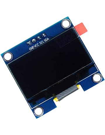 bleu Blanc//Bleu//Jaune//Bleu Module daffichage s/érie SPI SENRISE SSD1306 128 x 64 0,96 OLED Module daffichage pour Arduino Raspberry PI