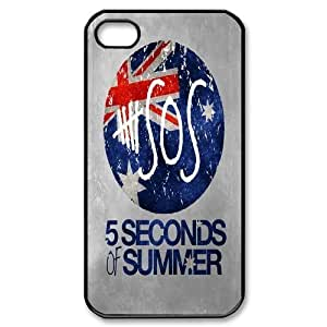 Custom High Quality WUCHAOGUI Phone case 5SOS music band Protective Case For Iphone 4 4S case cover - Case-19