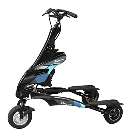 Amazon.com: Trikke Black Pon-e - Patinete plegable ...
