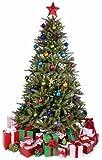 Star Cutouts - Sagoma In Cartone Dell'Albero Di Natale Con Regali, A Dimensione Naturale