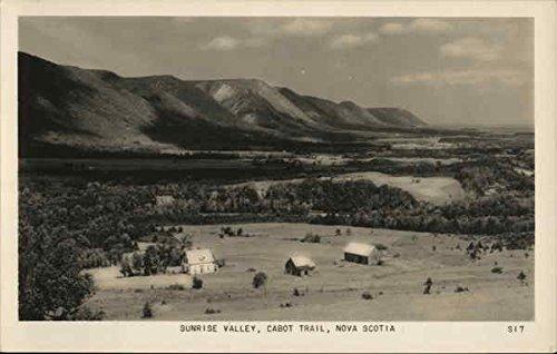 Sunrise Valley, Cabot Trail Nova Scotia Canada Original Vintage Postcard ()