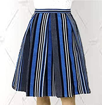 EMF- Women's Knee Length Pleated Skirt