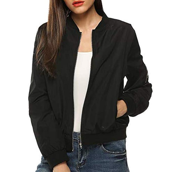 ASHOP Ropa Mujer, 2019 Chaquetas de Mujer Casual en Oferta Abrigos Talla Grande Jacket Cuero: Amazon.es: Ropa y accesorios