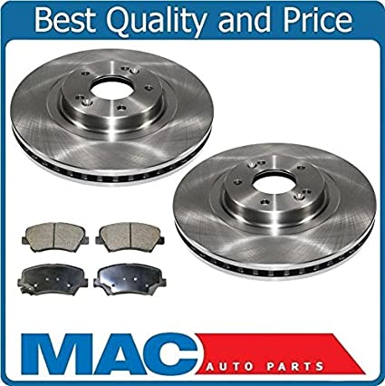 Brake Pads And Rotors Prices >> Amazon Com Front Brake Disc Rotors With Ceramic Front Pads