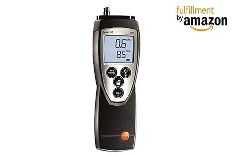 Testo® 512 medidor de velocidad de presión y caudal