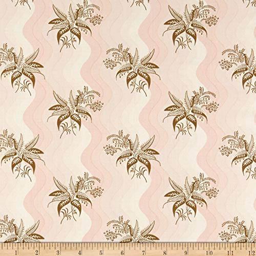 (Andover Windermere Buds Fabric, Rose, Fabric By The Yard)