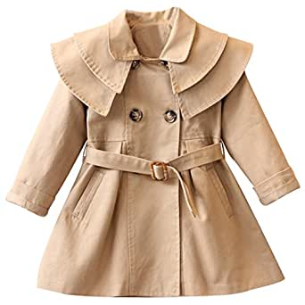 Amazon.com: Samuel Roussel Girls Coat Solid Double