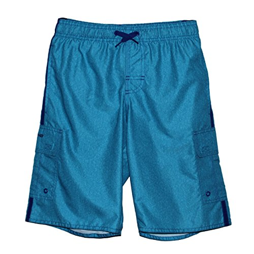 Laguna Men's Locked In E-Boardshort Ocean Blue XX-Large (Trunk Storage Pods Pocket)