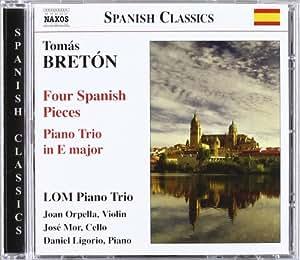 Four Spanish Pieces Piano Tri