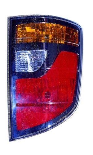 Go-Parts - for 2006 - 2008 Honda Ridgeline Rear Tail Light Lamp Assembly Housing / Lens / Cover - Right (Passenger) Side 33501-SJC-A01 HO2819131 Replacement For Honda Ridgeline