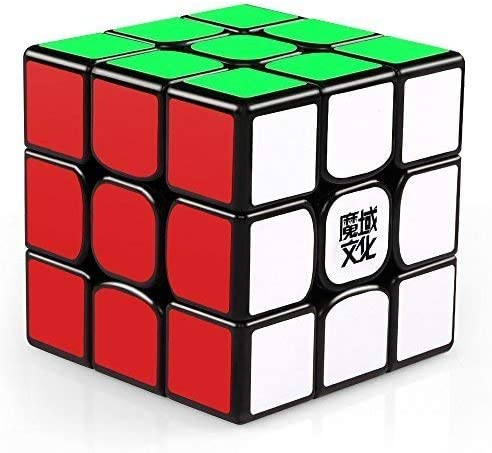 AGAMI 3x3 MOYU Mofang Jiaoshi Black Enhanced Edition High Speed Rubiks Rubic Cube 3D Puzzle Rubix