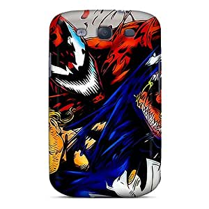 VaEoQkQ724MXlBn Case Cover Protector For Galaxy S3 Venom And Carnage Case