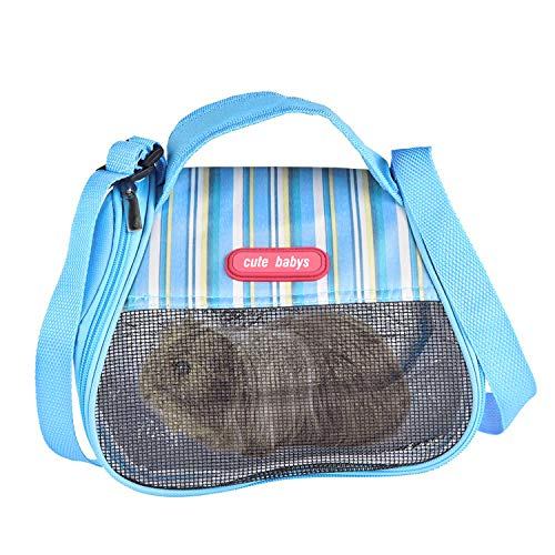 (RYPET Hamster Carrier Bag - Portable Breathable Outgoing Bag for Guinea Pig Hedgehog Squirrel Chinchilla and Other Similar Sized Animal)