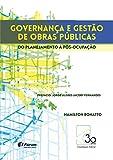 capa de Governança e Gestão de Obras Públicas do Planejamento à Pós-Ocupação