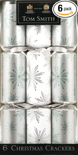 the gift wrap company christmas crackers from the tom smith collection holiday storm pack